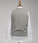 Cardigan St Cloud marl grey
