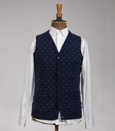 Cardigan St Cloud - Navy