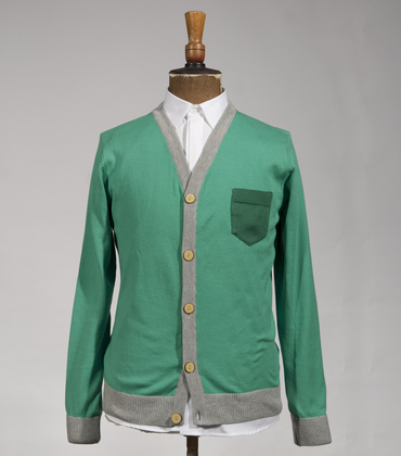 Cardigan Châtillon - Green
