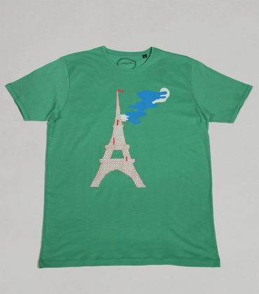 Tee-shirt Effeil - Green