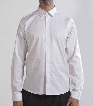 Shirt Rochefort - White w/stripes