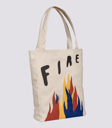 Bag Fire - Ecru