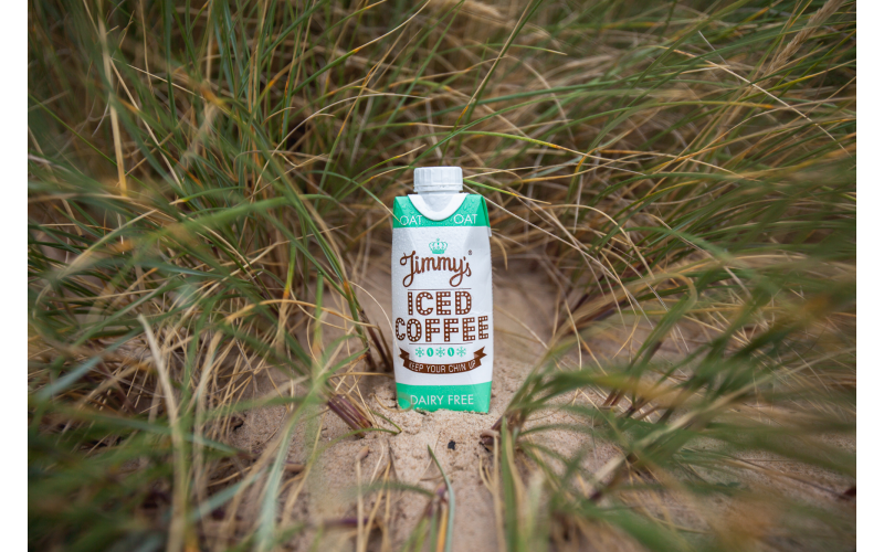 WIN A MONTH�S SUPPLY JIMMY�S ICED COFFEE DAIRY FREE