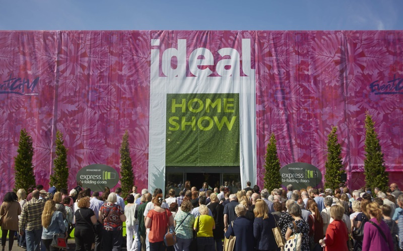 Two tickets to the Ideal Home Show Manchester