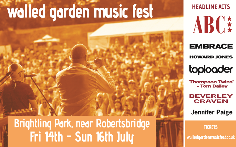 3 day passes to the Walled Garden Music Fest 2017
