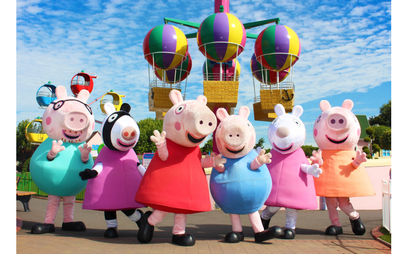 Golden Tickets to Paultons Park - Home of Peppa Pig World, for one family
