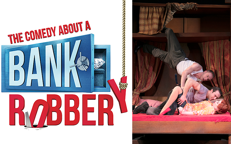Four premium tickets to see The Comedy About A Bank Robbery