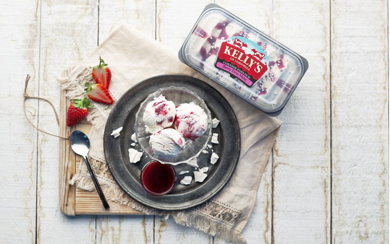 A year�s supply of Kelly�s ice cream