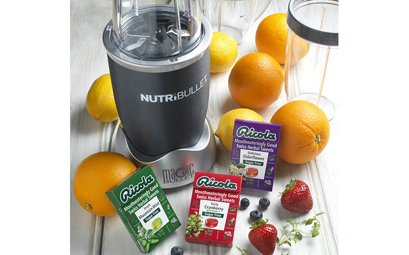 NUTRiBULLET and a year�s supply of Ricola sugar free sweets