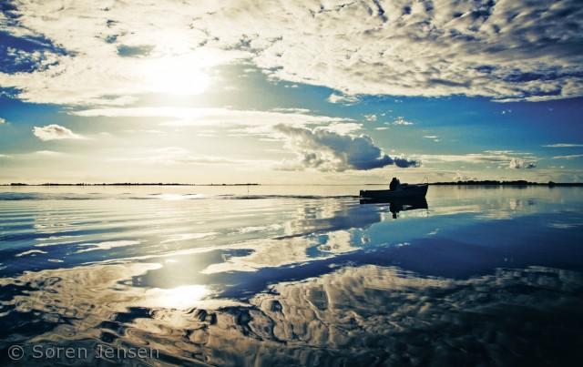 En tur på fjorden om sommeren er en fantastisk oplevelse.