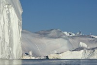 85 % af Grønlands areal er dækket af indlandsisen