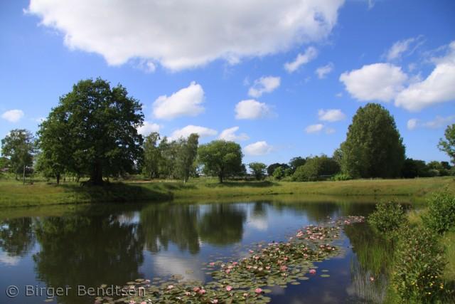 Lige uden for Svaneke ligger denne lille sø, som er utrolig smuk,især når Åkanderne blomstrer.  Birger Bendtsen bjbendtsen@gmail.com