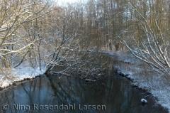Åen/kanalen der går fra Hindemaj mod Haderslev By