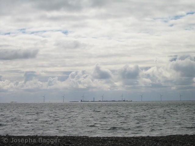Vindmøllerække ved Vestervig