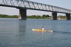 Billedet er taget ved den gamle Lillebæltsbro