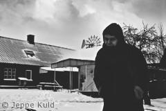 Dette billede er taget en kold vinterdag hos Brygmesteren, uden for Svaneke.