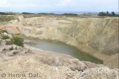 Billedet er taget fra et af de højeste punkter på Fur, nær Bette Jeppe's hyw, :-)