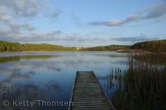 Rugård gods og sø, en tur rundt om søen, med afstikker til havet er en dejlig oplevelse.