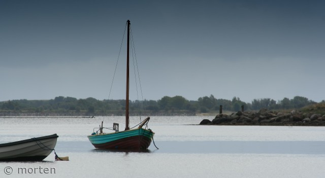 Småbåde for svaj på Skitten, Ærøskøbing