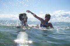 Skøn badedag på Vesterøstrand :)