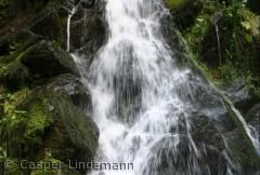 Vandfaldet i Dynddalen opleves bedst om foråret