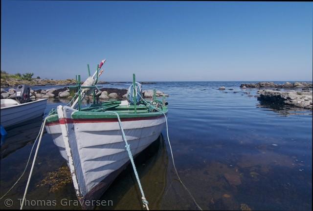En stille morgen ved kysten.  Fotograf: Thomas Graversen  tgraversen36@gmail.com