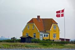 """Sejlturen til Albuen er en oplevelse! Albuehus: Nakskov Fjord i """"forhaven"""", Langelandsbælt i """"baghaven  :-)"""