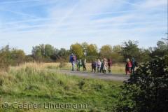 Børnehave på udflugt ved Naturcenter Vestamager.