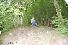 Rold skov er et fantastisk sted for alle aldre, og man bliver med sikkerhed godt træt efter en lang gåtur.
