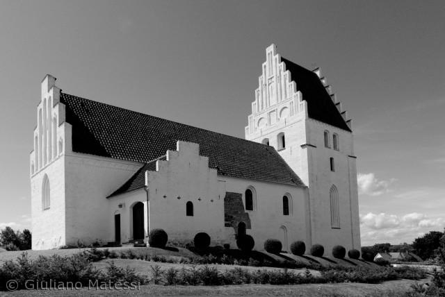 Den gamle Elmelunde Kirke.