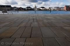 Amalienborg, fra den anden side a havnen