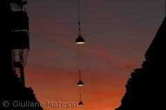 Solnedgang på Istedgade, Vesterbro
