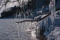 Vinter ved Højerup Gl Kirke