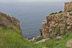 Langs kysten ved Johns Kapel ses dette smukke syn. Birger Bendtsen bjbendtsen@gmail.com