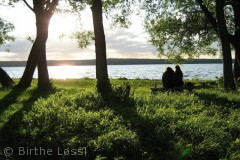 Jeg elsker havnen ved Esrom sø specielt ved solnedgangs tid der er så Smukt på alle årstider.