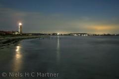 Strib Fyr fotograferet en aften i 2011