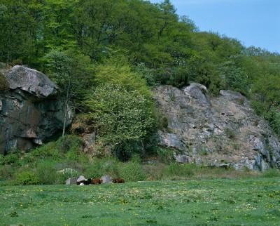 stenbrud på bornholm kort