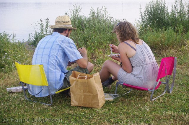 Sommeraften ved Vigen Camping, Roskilde