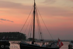 Mjølner, en Gl. pæreskude ved Ærøskøbing havn