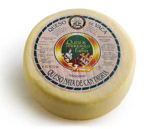 Nata de Cantabria cheese