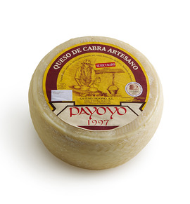 Semi cured Payoyo goat cheese