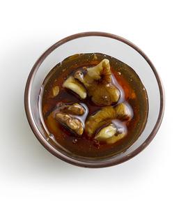 Miel de castaño con nueces