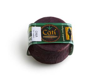 Organic wine style Catí cheese