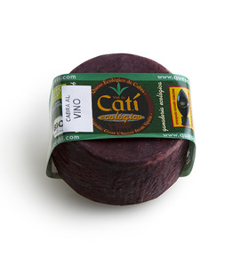 Organic wine style Catí cheese