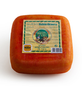 Semicured Mahón cheese