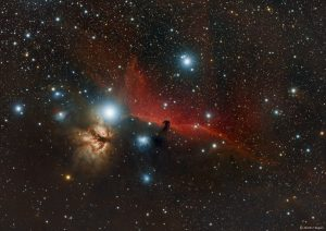 This image of the Horsehead Nebula was captured by Martin Heigan and is used with his permission