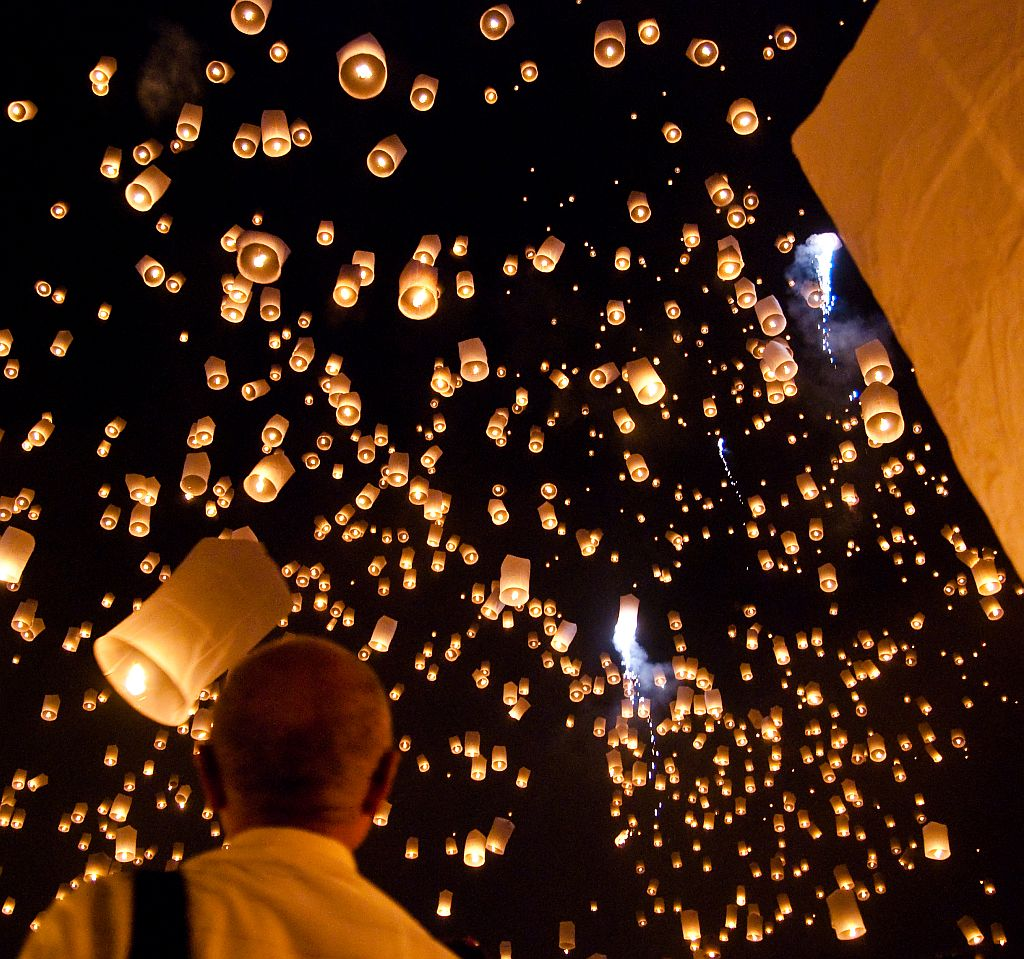 Chinese or Sky Lanterns
