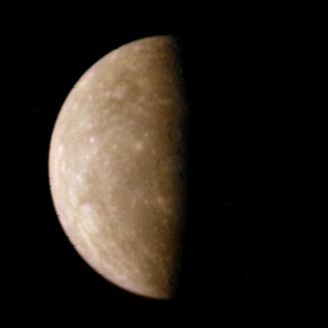 Mercury, as seen by Mariner 10