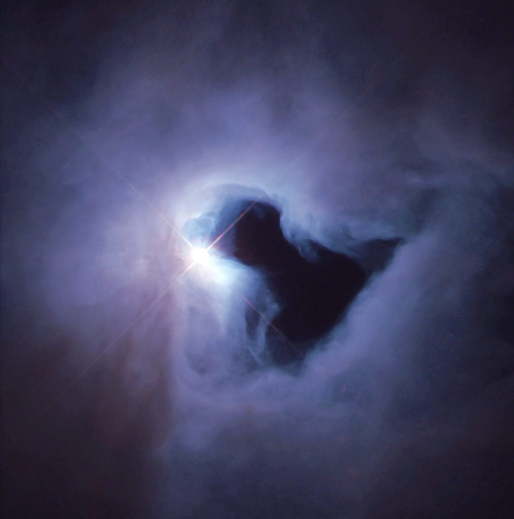 NGC 1999 - Reflection Nebula in Orion