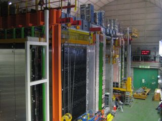 General view of the OPERA Detector. Credit: OPERA experiment